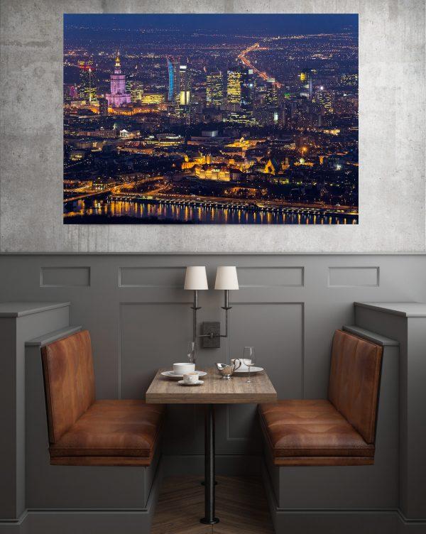 Stare i Nowe Miasto – Fotoobraz na płótnie WarsawGiftShop.com