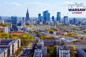 Wiosna w Warszawie fotoobraz WARSAWGIFTSHOP