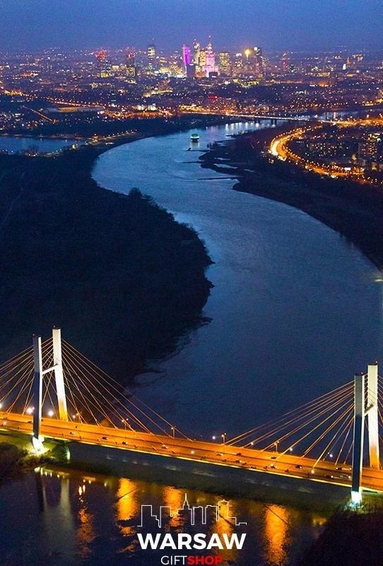 Wisła Królowa Polskich rzek fotoobraz WARSAWGIFTSHOP