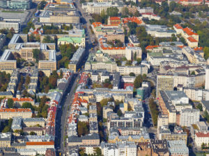 Krakowskie przedmieście w Warszawie fotoobraz z kolekcji WARSAW ON AIR!