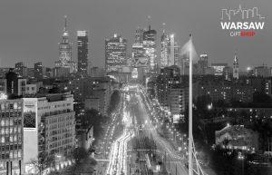 Sen o Warszawie fotoobraz czarno-biały WARSAWGIFTSHOP