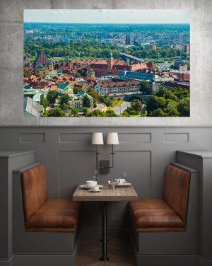 Zamek Królewski fotoobraz na płótnie WarsawGiftShop.com