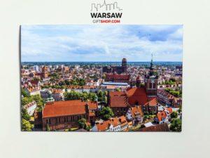 Lato w Gdańsku magnes pocztówkowy WarsawGiftShop