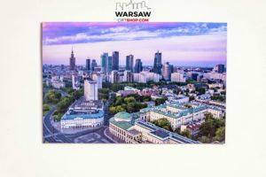 Warszawski świt magnes pocztówkowy