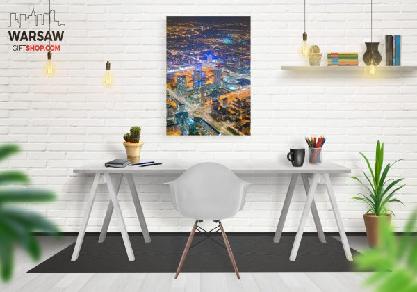 Warszawskie wieżowce fotoobraz