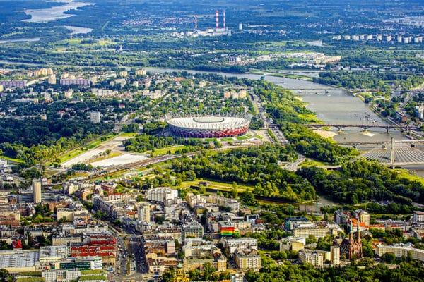 praga stadion narodowy i wisła