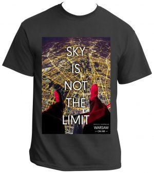 Koszulka Sky is not the limit WarsawGiftShop.com
