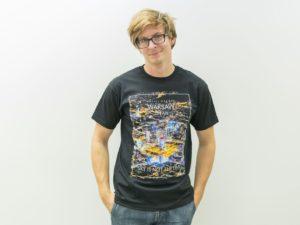 WARSAW ON AIR koszulka z nadrukiem