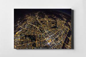 Planeta Warszawa widziana z góry WARSAW ON AIR