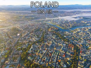 Kraków i Tatry ON AIR fotoobraz z kolekcji POLAND ON AIR