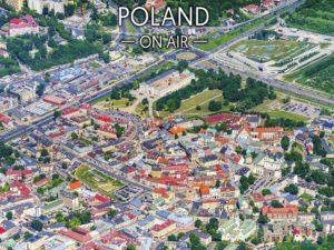 Lublin ON AIR fotoobraz z kolekcji POLAND ON AIR