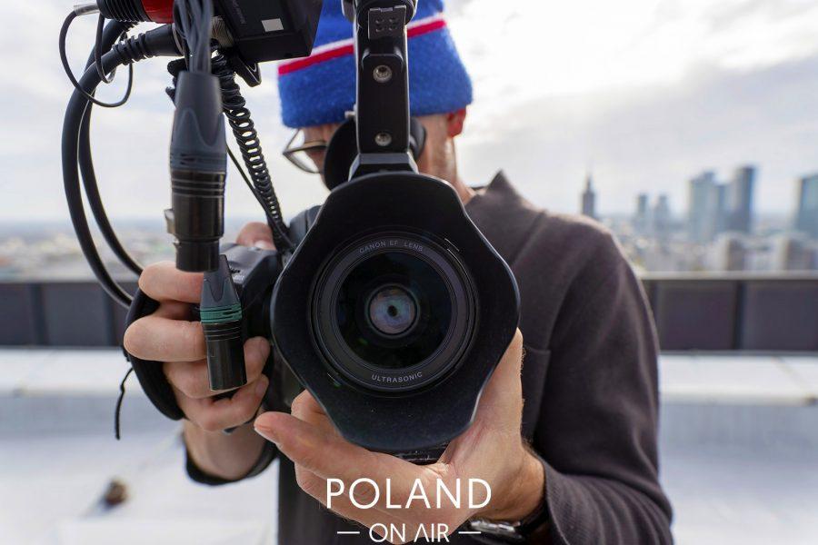 Poland On Air w reportażu Metropole Warschau telewizji ARTE (1)