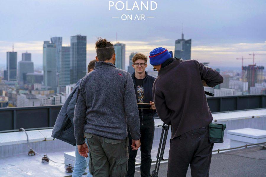 Poland On Air w reportażu Metropole Warschau telewizji ARTE (10)
