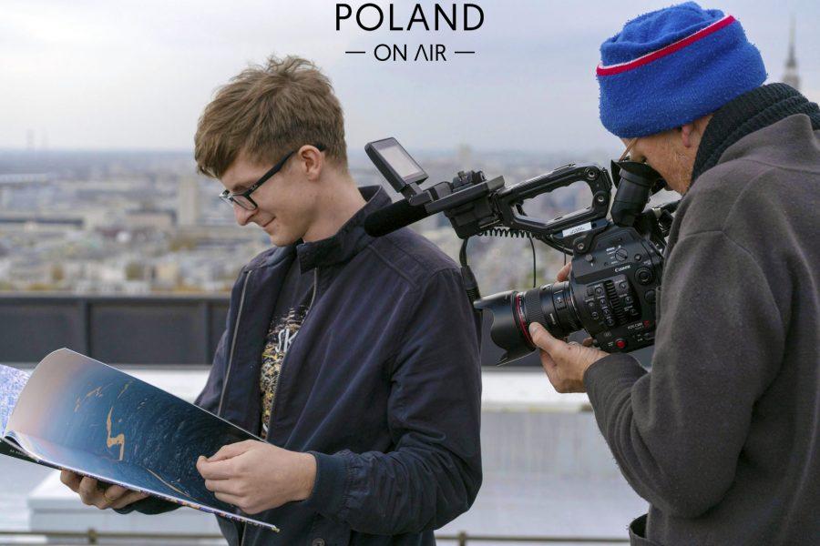 Poland On Air w reportażu Metropole Warschau telewizji ARTE (12)