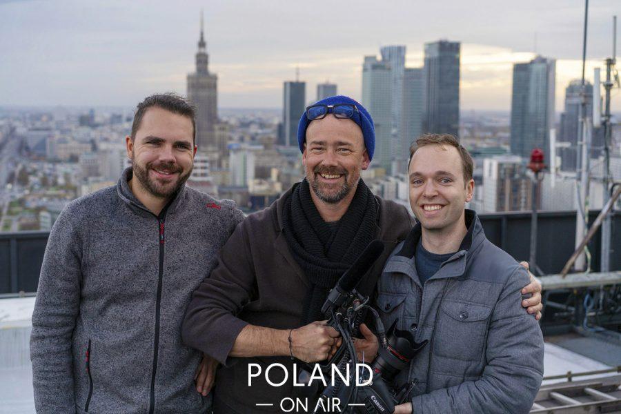Poland On Air w reportażu Metropole Warschau telewizji ARTE (4)
