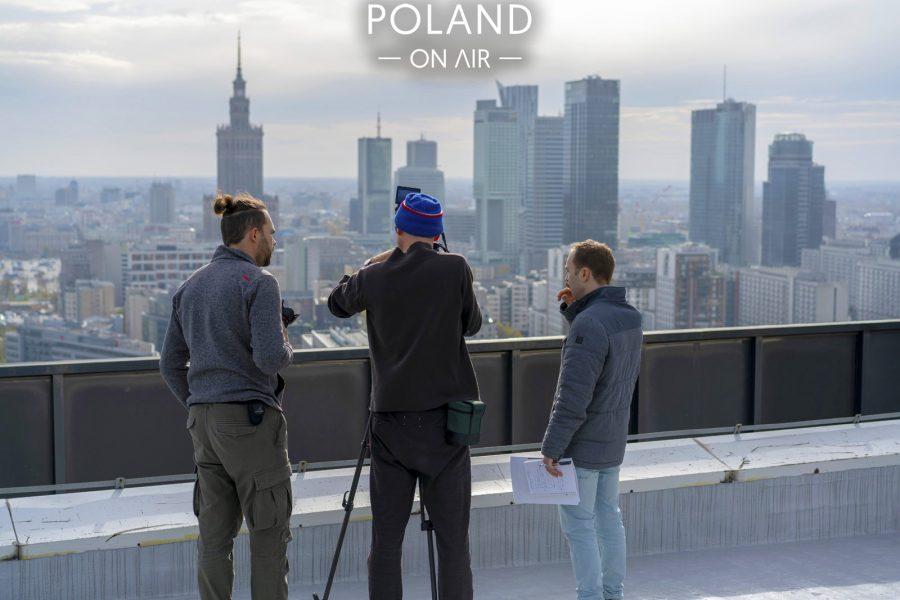 Poland On Air w reportażu Metropole Warschau telewizji ARTE (6)