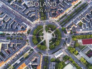Szczecińska gwiazda ON AIR - Rodno Grunwaldzkie fotoobraz na płótnie z kolekcji POLAND ON AIR