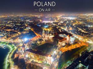 Wawel ON AIR fotoobraz na płótnie z kolekcji POLAND ON AIR
