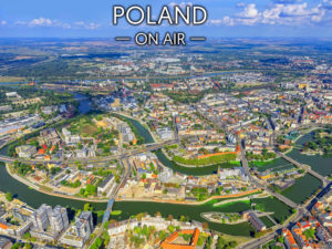 Zakręcony Wrocław ON AIR fotoobraz na płótnie