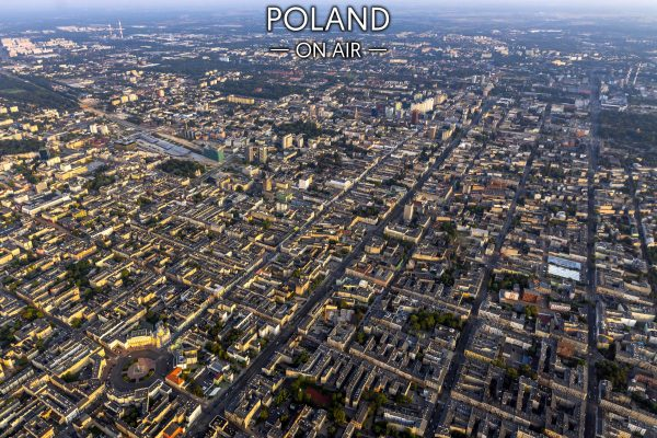 Łodź ON AIR fotoobraz z kolekcji POLAND ON AIR