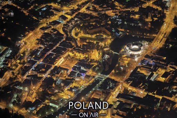 Bydgoszcz On Air nocą