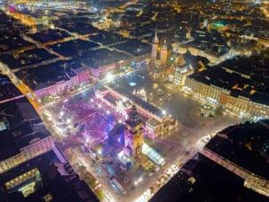 Krakow on air