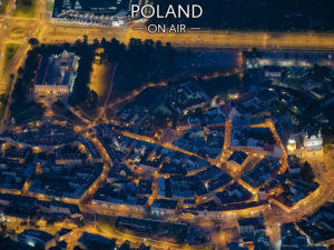 Nocny Lublin ON AIR! fotoobraz z kolekcji POLAND ON AIRl