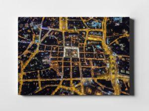 Poznań nocą ON AIR fotoobraz z kolekcji POLAND ON AIR