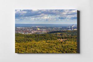 Gdańsk ON AIR Morze zieleni fotoobraz z kolekcji POLAND ON AIR