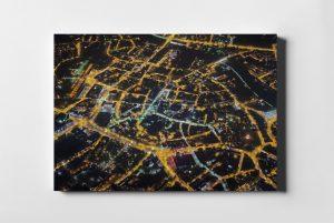 RZESZÓW ON AIR Nocą fotoobraz z kolekcji POLAND ON AIR