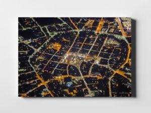 Nocny Kraków ON AIR! fotoobraz z kolekcji POLAND ON AIR