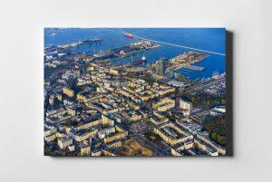 Gdynia ON AIR fotoobraz z kolekcji POLAND ON AIR