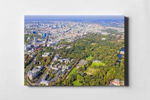 Łazienki Królewskie Warszawa fotoobraz na płótnie