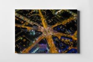 Plac Unii Lubelskiej z lotu ptaka – Fotoobraz z kolekcji WARSAW ON AIR!