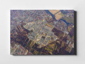 Wilanów z lotu ptaka- fotoobraz na płótnie z kolekcji WARSAW ON AIR!