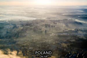 Krakow z lotu ptaka
