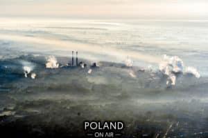 Krakow z lotu ptaka nowa huta