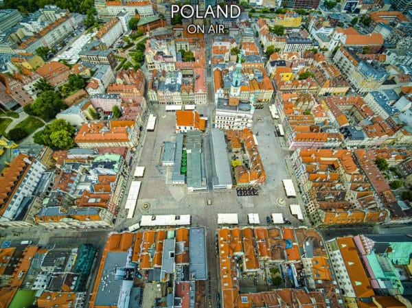 Poznańzlotuptaka rynekzadnia fotoobraz