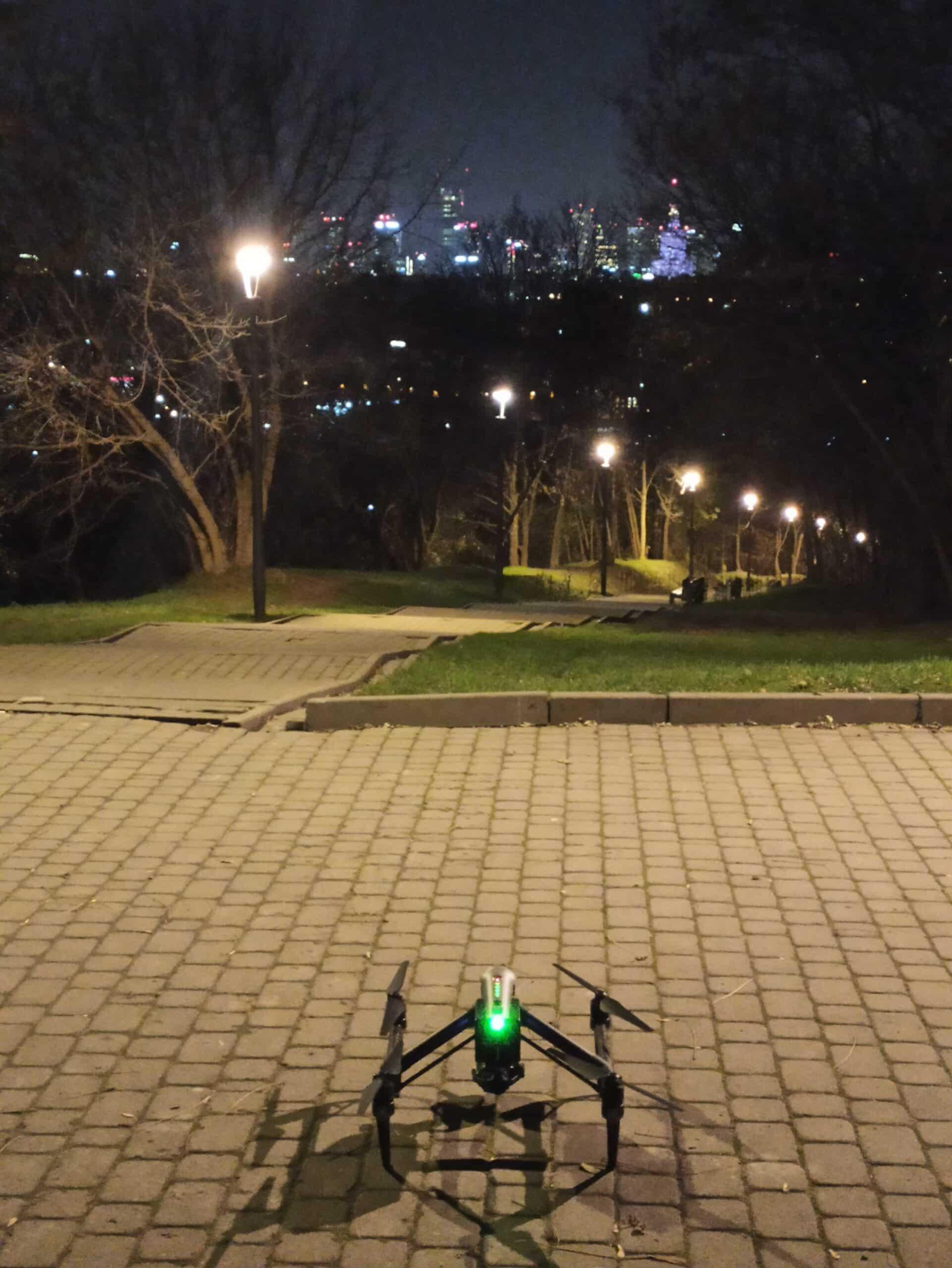 dron poland on air